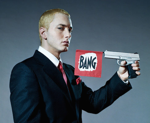 Cantor americano Eminem cita Bitcoin em seu novo albúm