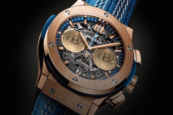 d5c3075f6b5 Hublot lança relógio de R  90 mil que só pode ser comprado com bitcoin