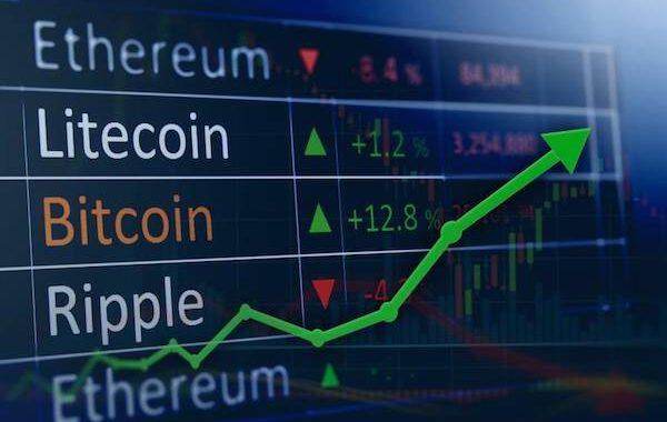 Criptos têm pequenos ganhos no dia e mercado de ações opera no lado positivo