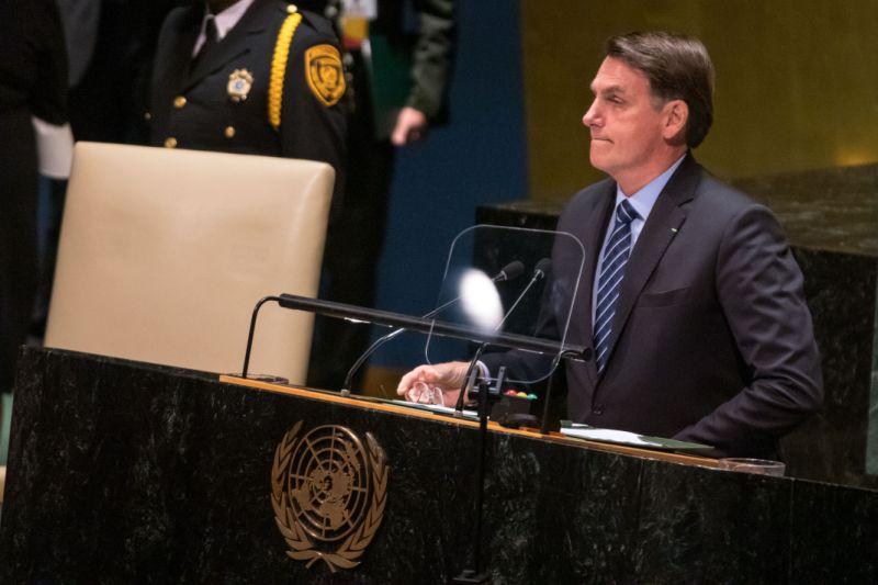 Na ONU, Bolsonaro fala de compromisso com a preservação da Amazônia e soberania